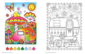 Small Picture Amazoncom Happy Campers Coloring Book Coloring Is Fun
