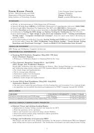 DBS RESUME Resume For Study