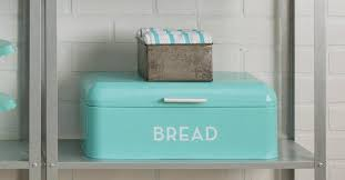 Turquoise Bread Box Best Retro Bread Box OddGifts