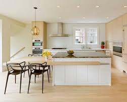 Kitchen Island Table Combination Inspiration For A Scandinavian Eatin Remodel In With Beautiful Design