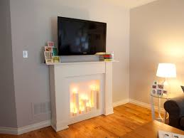 fau fireplace with candles fire pits ideas regard to never give up