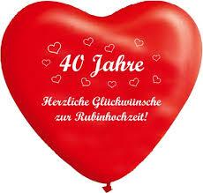 Hochzeit Blog Glueckwunsch Rubinhochzeit Gedicht Rubinhochzeit