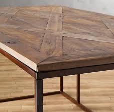reclaimed wood and metal furniture. reclaimed wood u0026 metal desk and furniture