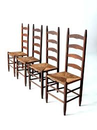 woven rush seat dining chairs wonderful ladder back dining chair french country rush seat dining chairs