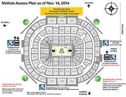 Arizona Mckale Center Seating Chart Ua Mckale Center Seating Related Keywords Suggestions Ua