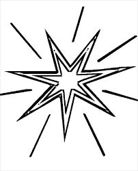 Small Picture 6 Star Coloring Pages Free Premium Templates