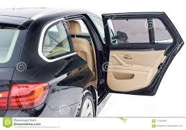 open back door in modern car