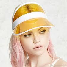 Ladies Designer Sun Visors 2019 Designer Sun Hats Pvc Visor For Women And Men Sports Golf Hats Uv Protection Summer Caps From Zhaoning1004 2 55 Dhgate Com