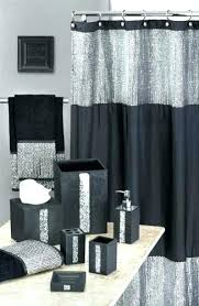 curtain winsome shower sets 3 bathroom lovely with and rugs accessories best bucket