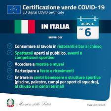 Certificazione verde Covid-19 (Green pass), le informazioni utili – Comune  di Magenta