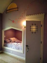 bed built into wall built into the wall bed the door leads to a ladder in bed built into wall