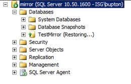 Configure Sql Server Database Mirroring Using Ssms