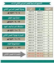 اجازة رمضان ١٤٤٢
