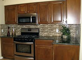 brown kitchen backsplash tile contemporary kitchen ideas with brown glass stick tile solid wood kitchen cabinet brown kitchen backsplash tile