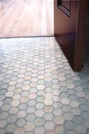 hex tile bathroom floor bathroom glass hexagon floor glass tile