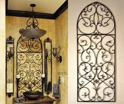 Small Picture Tuscan Iron Wall Decor Love the Tuscan decor bathroom Tuscan