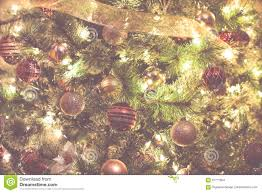 Ornaments And Lights Christmas Holiday Background Christmas Tree With Bubble