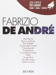 Fabrizio de Andre Piano, Voix, Guitare: Amazon.co.uk ...