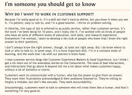 Cover Letters That Work Customer Support Coverletter Example