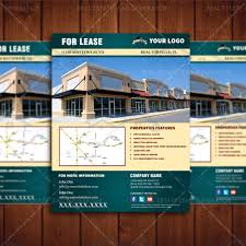 for lease commercial property listing template real estate lead for lease flyer 3
