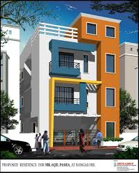G 3 Apartment Structural Design Beautiful Elevation For A Three Storey House Gharexpert