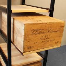 Wooden wine case Box Wine Bottle Case Rack Metal Wood Drawer Wineware Wine Bottle Case Rack Metal Wood Drawer Wine Racks Uk Wine