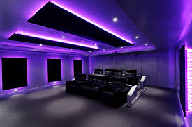 led lighting home. the pool house cinema over 60 meters of colorchanging led lighting changes led home
