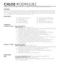 Executive Secretary Resume Examples Best Administrative Executive Resume Administrative Assistant Resume