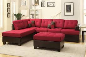 glamorous genuine leather chesterfield sofa as well as modern with regard to red sectional sleeper sofas