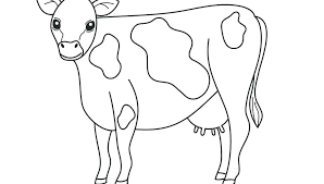 Farm Animal Coloring Pages To Print Free Printable Baby Animals