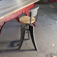 Draftsman Vintage Industrial Style Bar Stool Industrial