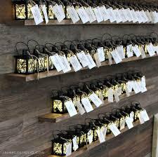 mini lanterns on ledges