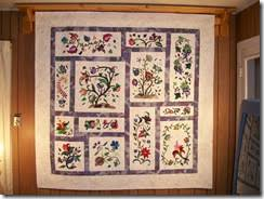 Kathy's Fancy Stitching News: Dec. 23 – Jacobean Rhapsody & The whole story: This quilt was started in early 2000 and took 2 1/2 years  to do the needle-turn applique. I put it in my hand-quilting frame and got  ... Adamdwight.com