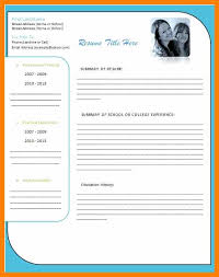 Resume. Free Resume Templates Download For Word 2 - Best Inspiration ...