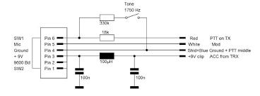astatic d 104 n6pet my ham radio journal Heil Heat Pump Wiring Schematics schematic mod2 yaesu