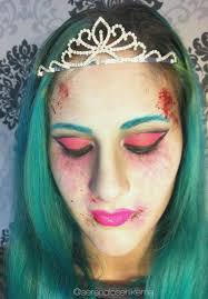 d free tutorial not a princess a zombie princess