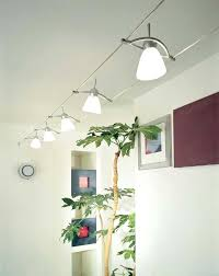 can track lighting be mounted on a wall they have track lighting similar to this at