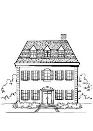 Kleurplaat Minecraft Huis Haus Malvorlag Ausmalbilder Huser