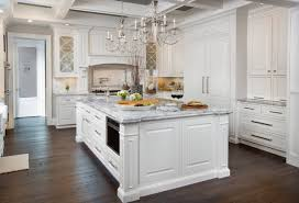 white traditional kitchen copper. Kitchen Chandeliers Elegant Light Copper White Traditional