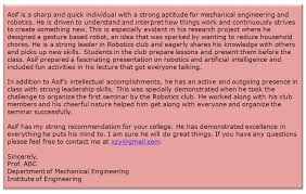 Letter Of Recommendation Mechanical Engineering 7 Tips To Writing A Letter Of Recommendation For Ms Greedge Blog