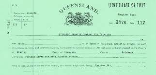 28 Paper Paper Certificates Of Title In Qld October 2019 Sempre