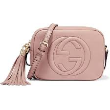gucci purse. gucci soho disco textured-leather shoulder bag ($915) ❤ liked on polyvore featuring purse n