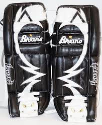 Brians Beast Jr Goalie Ice Or Roller Hockey Goal Leg Pads