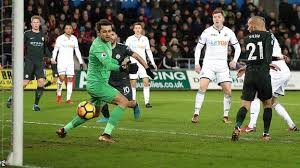 You are watching swansea city vs manchester city game in hd directly from the liberty stadium, swansea, wales, streaming live for your computer, mobile and. Swansea City 0 4 Manchester City Bbc Sport