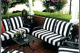 yellow patio furniture. Striped Patio Cushions Enchanting Black And White Outdoor Of  Furniture Club Yellow