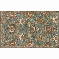blue and brown rug awesome loloi rugs underwood blue rust area rug reviews wayfair
