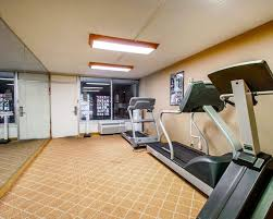 fitness exercise room clarion inn suites dothan