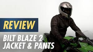 Bilt Motorcycle Jacket Size Chart Bilt Blaze 2 Jacket Pants Review At Cyclegear Com