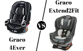 graco 4ever vs graco extend2fit 2021