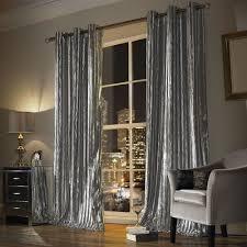 Lined Bedroom Curtains Kylie Minogue Iliana Silver Lined Ready Made Eyelet Ring Top
